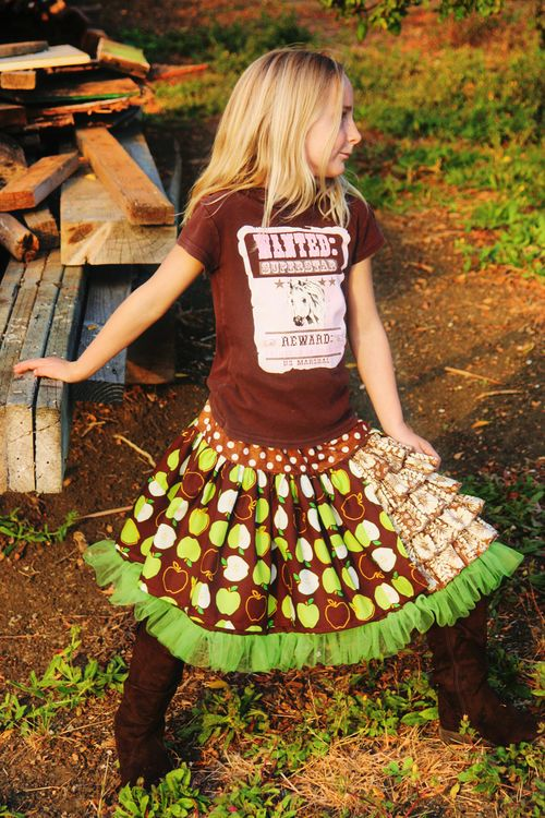 Apple skirt3
